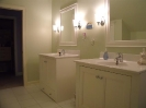 Jack and Jill Bath with Matching Mirrors and Optional Drawer on the Step
