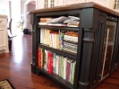End of Island Bookcase with Post