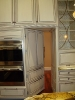 Concealed Pantry Door Made to Match Cabinets