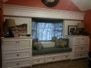 Custom Built-ins and Window Seat in Day Room