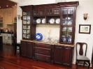 Hutch with Mullion Doors and Water Glass