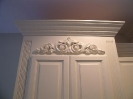 3'' Reeded Rails, Large Embossed Crown with Large Applique