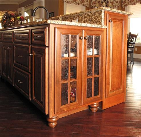 Gallery Category Kitchens Image Bun Foot With Mullion Glass