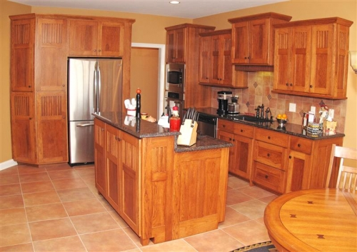 Gallery Category Kitchens Image Jail House Shaker Style - Hickory shaker style kitchen cabinets